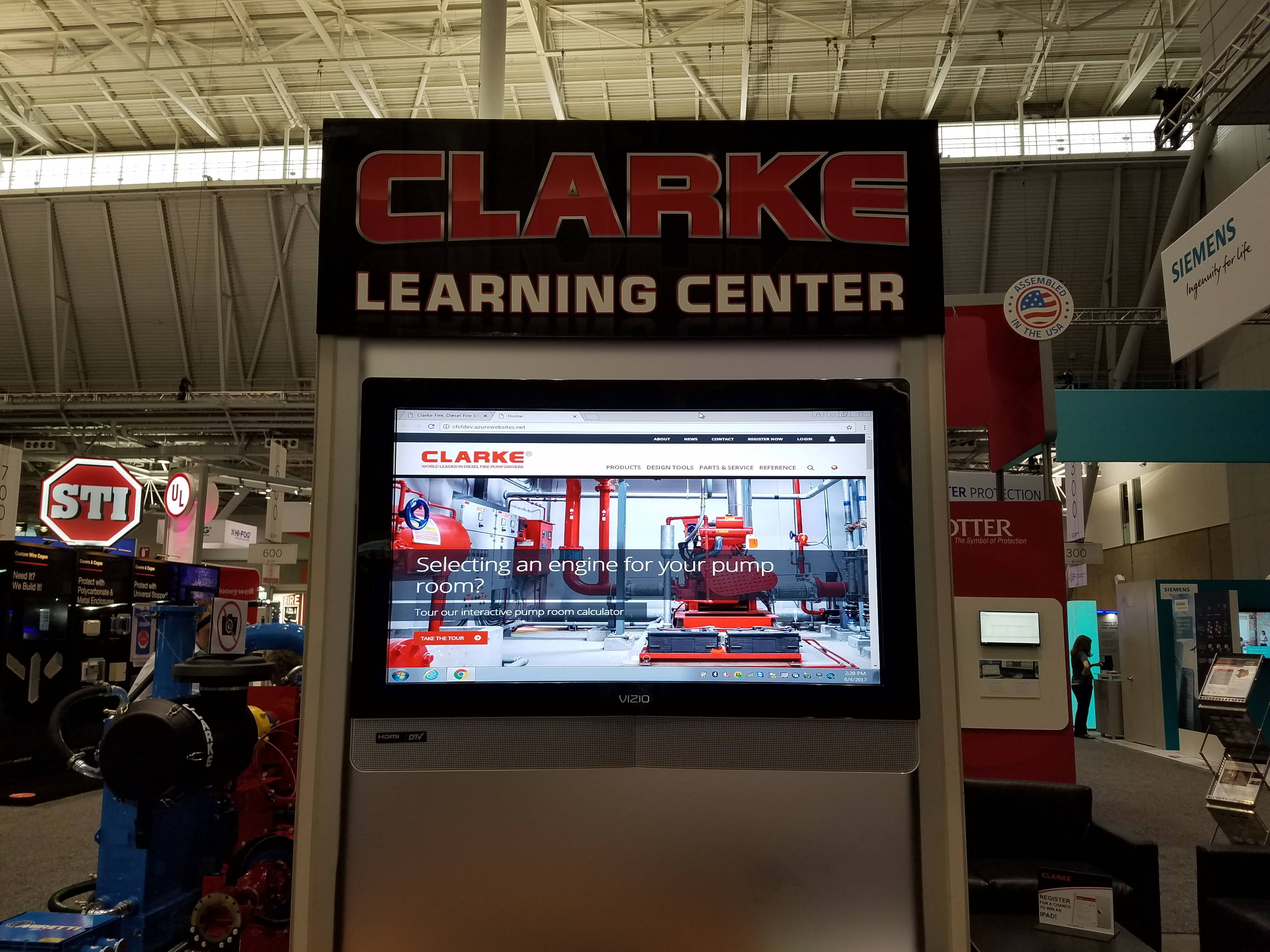Clarke Website Launch